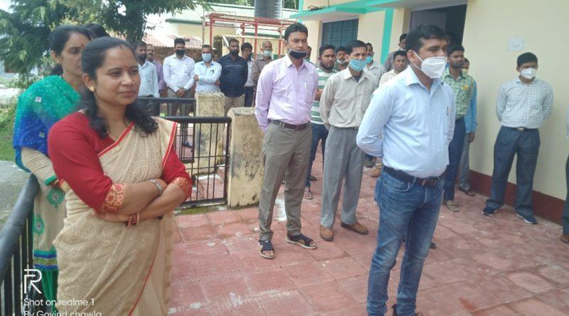 बेरीनाग में 15 अगस्त धूमधाम से मनाया गया।